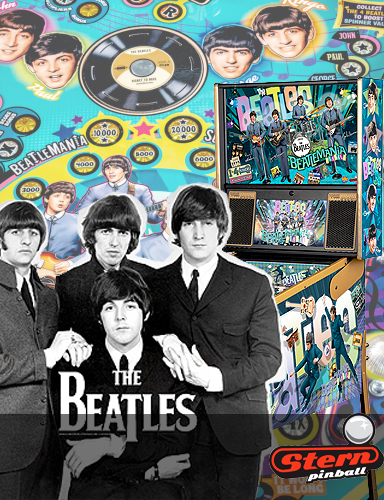 Flipper Stern - The Beatles chez Alda-jeux